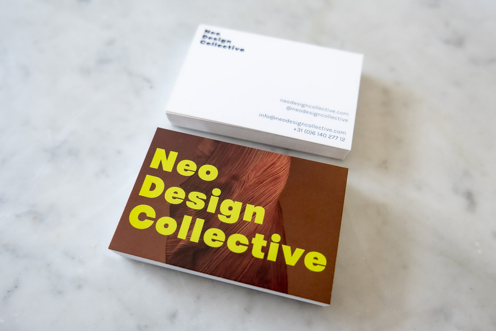 Neo Design Collective business card